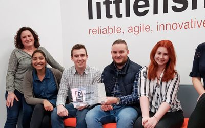 Littlefish ranks 'Ones to Watch' in Sunday Times Best Companies Awards