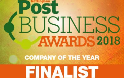Littlefish selected as finalist in two categories of the 2018 Nottingham Post Business Awards