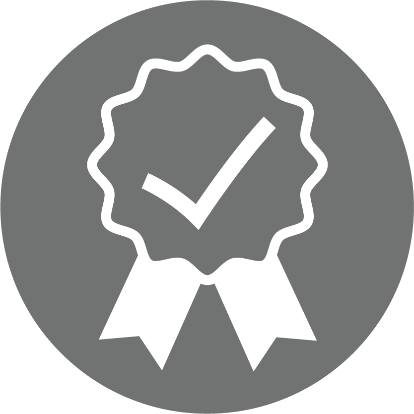 ISO Certified Service Quality Icon