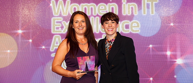 Littlefish's Head of Cyber Security, Katy Hinchcliffe, has won the 'Security Leader of the Year 2019' award at the Computing Women in IT Excellence Awards.